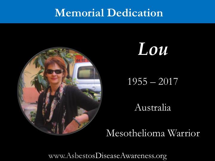 Lou Williams Memorial Dedication